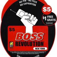 Boss Revolution: Phone Card Logo